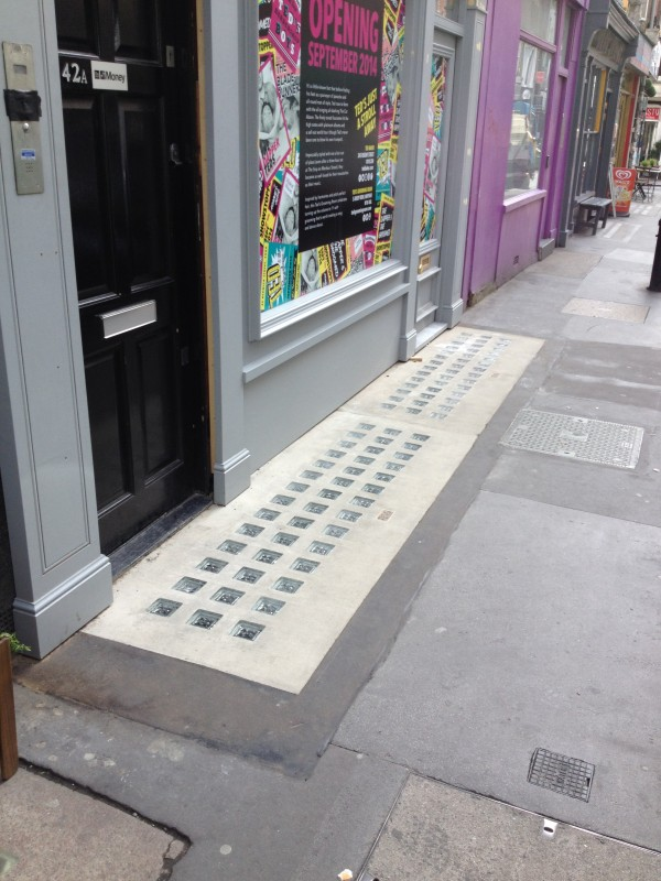 Luxcrete Pavement Light P.150-100 - 42 Berwick Street 2