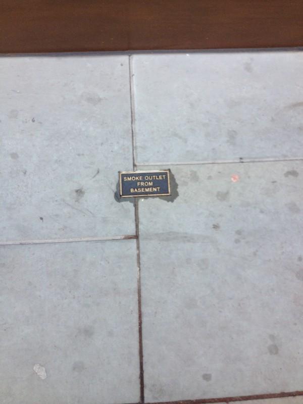 Luxcrete Smoke Outlet Panels SG.150-100 Regent Street 2