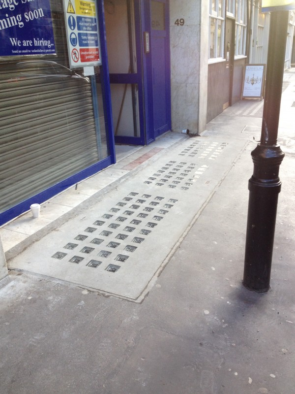Luxcrete Pavement Light P.150-100 - 49 Berwick Street 3